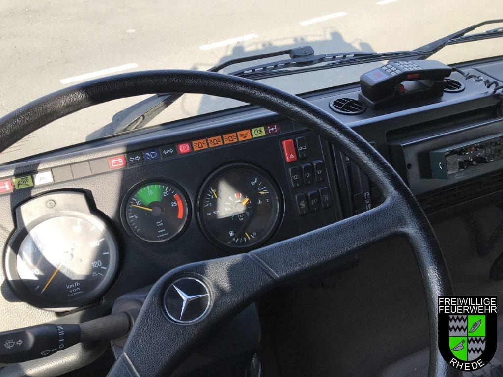 Bedienelemente für den Fahrer