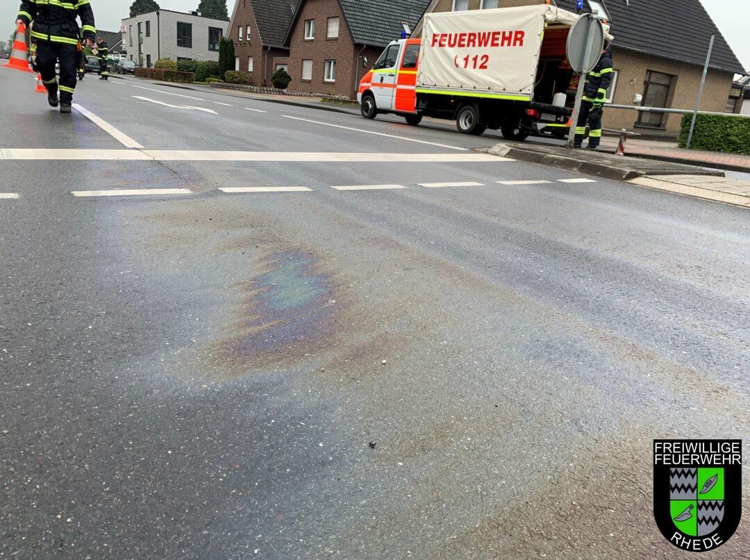 Ölspur Krechtinger Straße